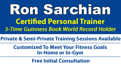 Ron Sarchian - Certified Fitness Instructor